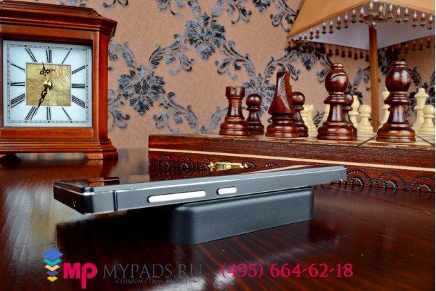 Металлическая задняя панель-крышка-накладка из тончайшего облегченного авиационного алюминия для xiaomi red rice 1s черная