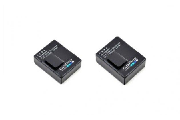 Комплект оригинальных аккумуляторнных батарей 1180mah для спортивной видео-экшн-камеры gopro hero3/hero3+ + гарантия