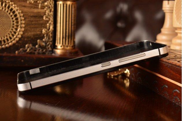 Металлическая задняя панель-крышка-накладка из тончайшего облегченного авиационного алюминия для xiaomi mi2a белая
