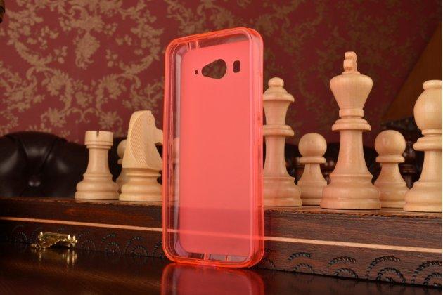 Ультра-тонкая полимерная из мягкого качественного силикона задняя панель-чехол-накладка для xiaomi mi2s розовая