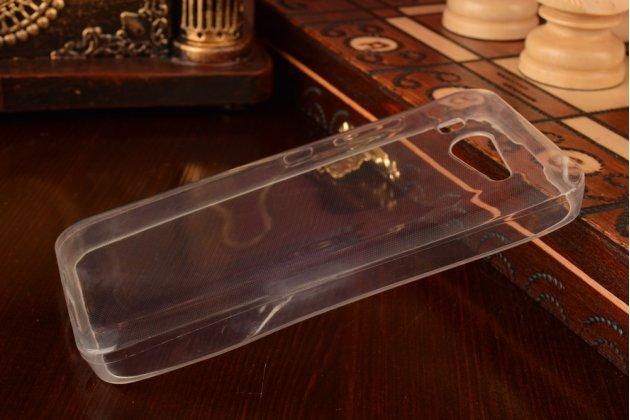 Ультра-тонкая полимерная из мягкого качественного силикона задняя панель-чехол-накладка для xiaomi mi2s белая