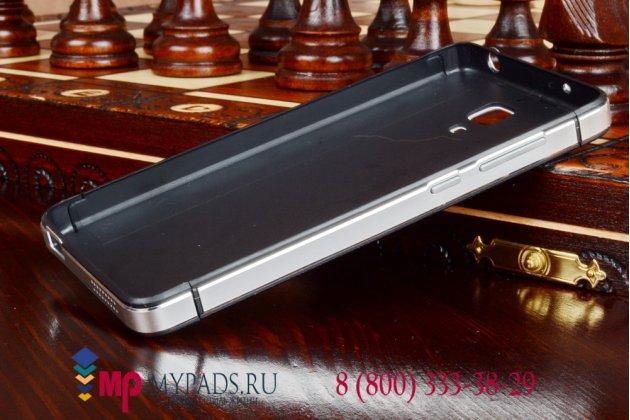 Металлическая задняя панель-крышка-накладка из тончайшего облегченного авиационного алюминия для xiaomi mi4 белая