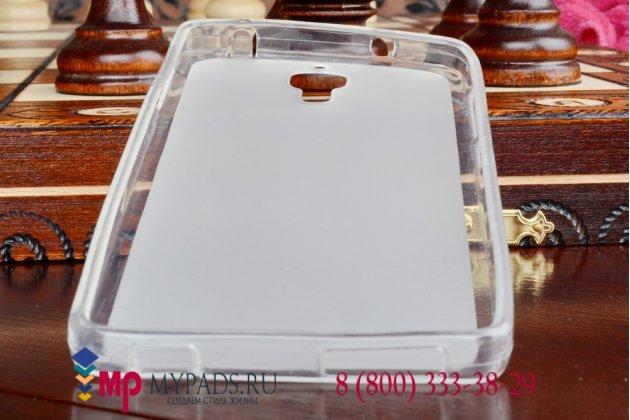 Ультра-тонкая полимерная мягкая задняя панель-чехол-накладка для xiaomi mi4 прозрачная