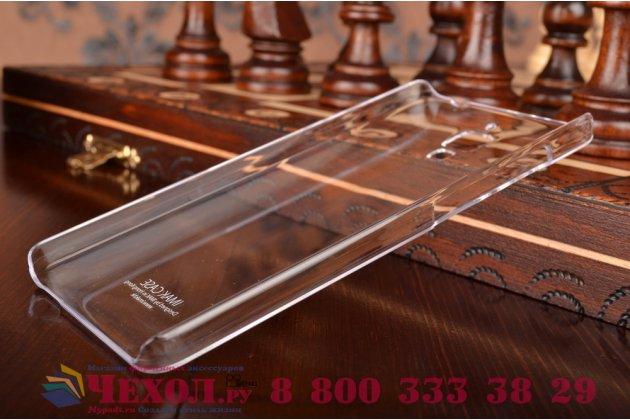 Задняя панель-крышка-накладка из тончайшего и прочного пластика для xiaomi mi4 прозрачная