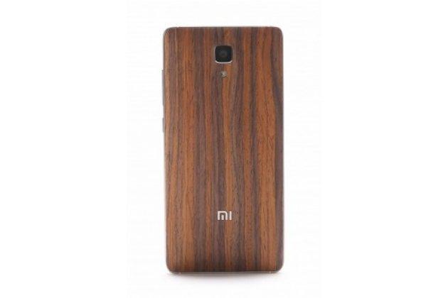 Деревянная бамбуковая задняя панель-крышка-накладка для xiaomi mi4