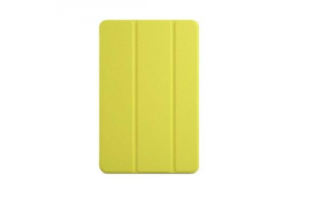 """Умный тонкий легкий чехол для xiaomi mipad 7.9"""" """"il sottile"""" желтый пластиковый"""