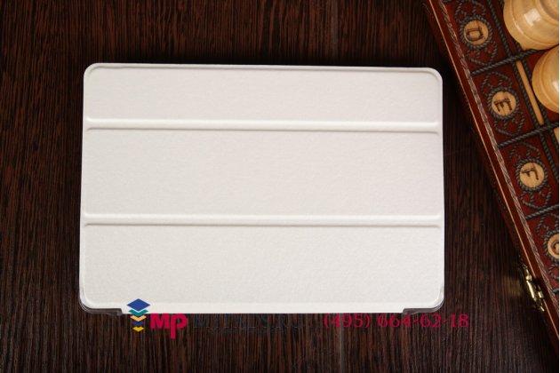 """Умный тонкий легкий чехол для xiaomi mipad 7.9"""" """"il sottile"""" белый пластиковый"""
