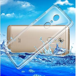 """Фирменная ультра-тонкая полимерная из мягкого качественного силикона задняя панель-чехол-накладка для  ZTE AXON 7/ Axon 2 (A2017G) 5.5"""" прозрачная"""