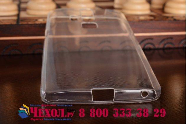 Ультра-тонкая полимерная из мягкого качественного силикона задняя панель-чехол-накладка для zte axon 7/ axon 2 (a2015) 5.5 прозрачная