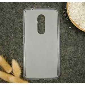"""Фирменная ультра-тонкая силиконовая задняя панель-чехол-накладка для ZTE AXON 7/ Axon 2 (A2017G) 5.5"""" белая"""