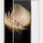 """2d защитное изогнутое стекло с закругленными изогнутыми краями которое полностью закрывает экран / дисплей по краям с олеофобным покрытием для zte axon 7/ axon 2 (a2017g) 5.5"""""""