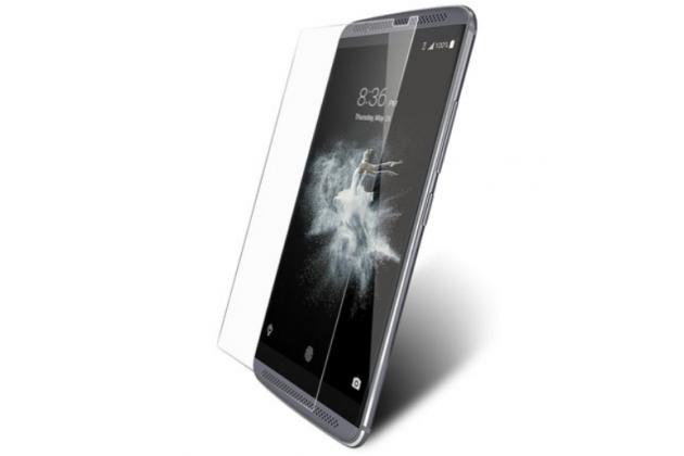 """Защитное закалённое противоударное стекло премиум-класса из качественного японского материала с олеофобным покрытием для телефона zte axon 7 mini"""""""