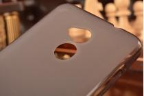 """Фирменная ультра-тонкая полимерная из мягкого качественного силикона задняя панель-чехол-накладка для ZTE Blade V7 Lite 5.0"""" черная"""