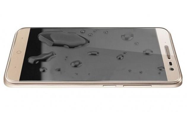 Защитное закалённое противоударное стекло премиум-класса из качественного японского материала с олеофобным покрытием для телефона zte blade a465