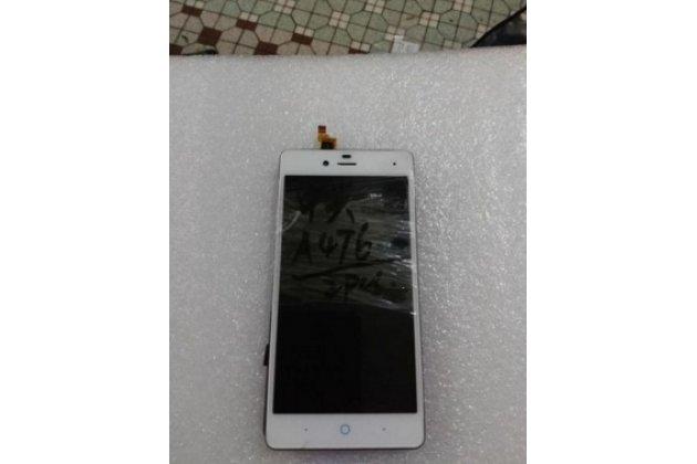 """Lcd-жк-сенсорный дисплей-экран-стекло с тачскрином на телефон zte blade a476 5.0""""  белый"""