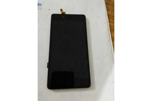"""Lcd-жк-сенсорный дисплей-экран-стекло с тачскрином на телефон zte blade a476 5.0""""  черный"""