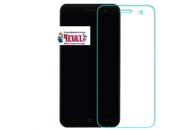 Защитное закалённое противоударное стекло премиум-класса из качественного японского материала с олеофобным покрытием для телефона zte blade a520 5.0 (ba520)