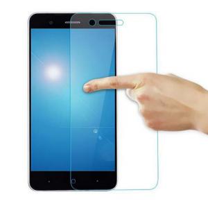 Фирменное защитное закалённое противоударное стекло премиум-класса из качественного японского материала с олеофобным покрытием для телефона ZTE Blade A610 Plus