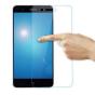 Защитное закалённое противоударное стекло премиум-класса из качественного японского материала с олеофобным покрытием для телефона zte blade a610 plus