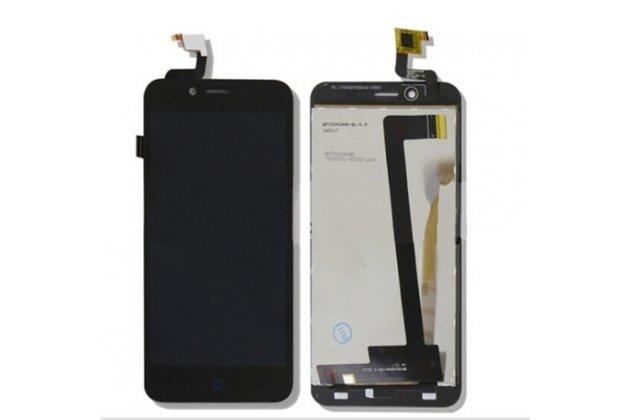"""Lcd-жк-сенсорный дисплей-экран-стекло с тачскрином на телефон zte blade l4/ l4 pro (a460) 5.0"""" черный"""