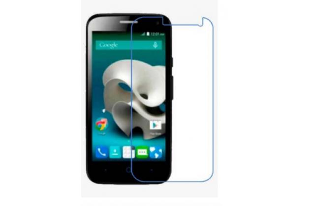 Защитная пленка для телефона zte blade q lux 3g/ q lux 4g (a430) глянцевая