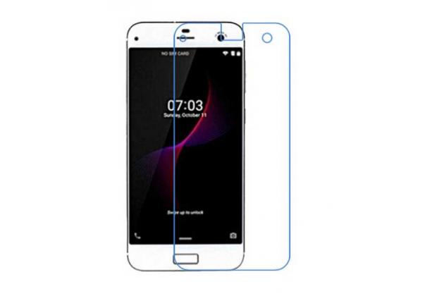 """Защитная пленка для телефона zte blade s7 5.0"""" глянцевая"""