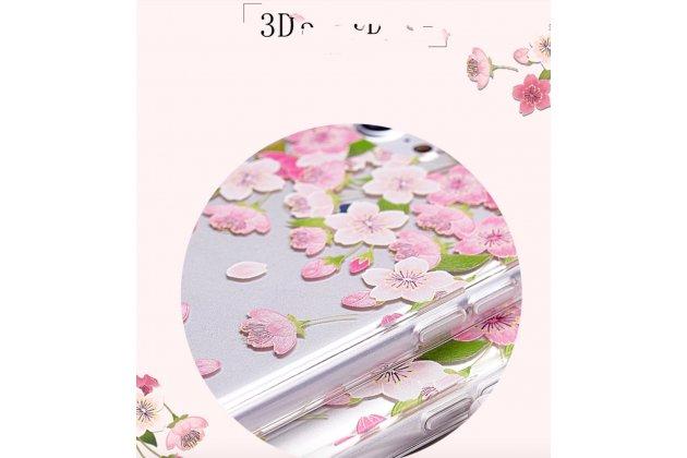 Премиальная элитная крышка-накладка на zte blade v7 5.2 (bv0701) из качественного силикона с рисунком мозайка