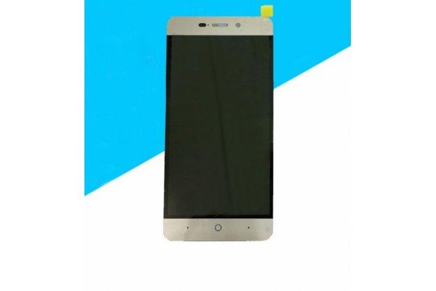 """Lcd-жк-сенсорный дисплей-экран-стекло с тачскрином на телефон zte blade x3/zte blade d2 5.0"""" черный"""