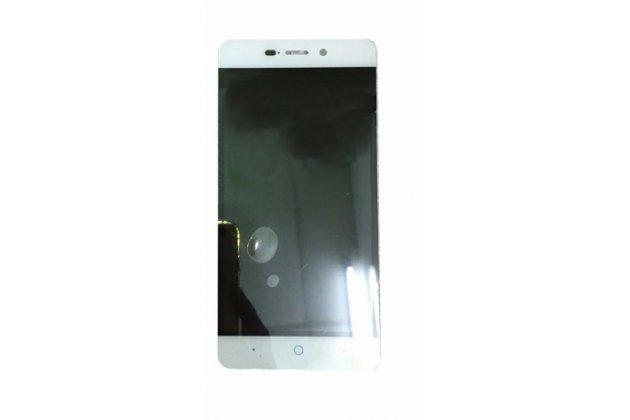 "Lcd-жк-сенсорный дисплей-экран-стекло с тачскрином на телефон zte blade x3/zte blade d2 5.0"" белый"