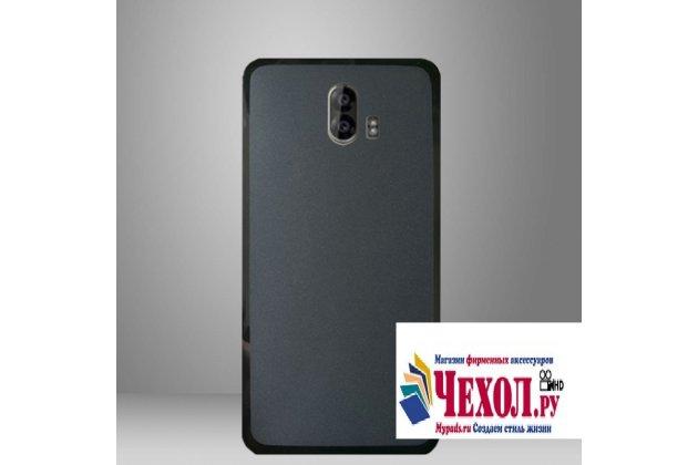 """Ультра-тонкая полимерная из мягкого качественного силикона задняя панель-чехол-накладка для zte blade v8 pro"""" черная"""