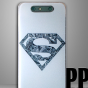 Ультра-тонкая полимерная из мягкого качественного силикона задняя панель-чехол-накладка для zte blade v8 тематика superman