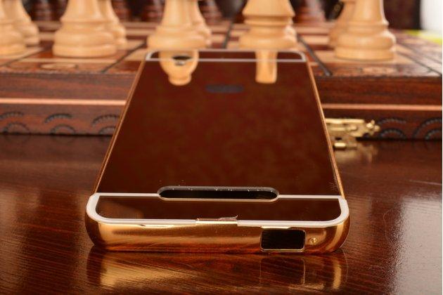 Металлическая задняя панель-крышка-накладка из тончайшего облегченного авиационного алюминия для zte blade x3/zte blade d2 5.0 золотая