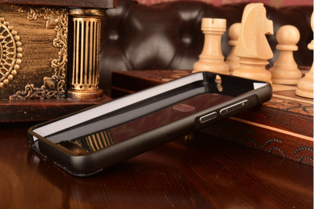 Металлическая задняя панель-крышка-накладка из тончайшего облегченного авиационного алюминия для zte blade x3/zte blade d2 5.0 черная