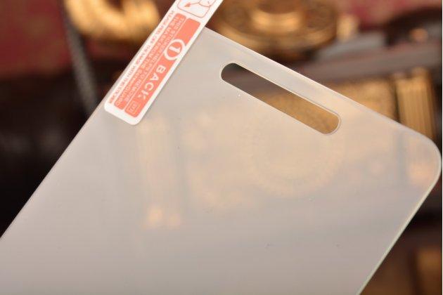 Защитное закалённое противоударное стекло премиум-класса из качественного японского материала с олеофобным покрытием для телефона zte blade x3/zte blade d2 5.0
