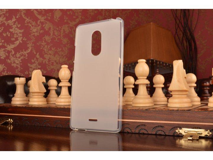 Ультра-тонкая полимерная из мягкого качественного силикона задняя панель-чехол-накладка для zte blade x9 белая..