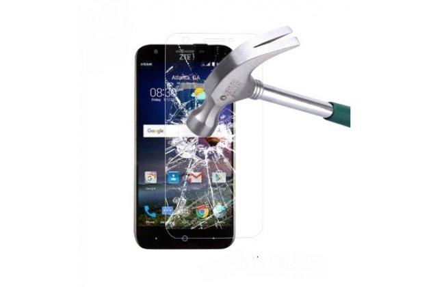 """Защитное закалённое противоударное стекло премиум-класса из качественного японского материала с олеофобным покрытием для телефона zte grand x3 (z959) 5.5"""""""