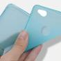 Фирменная ультра-тонкая полимерная из мягкого качественного силикона задняя панель-чехол-накладка для ZTE Nubia N1 белая
