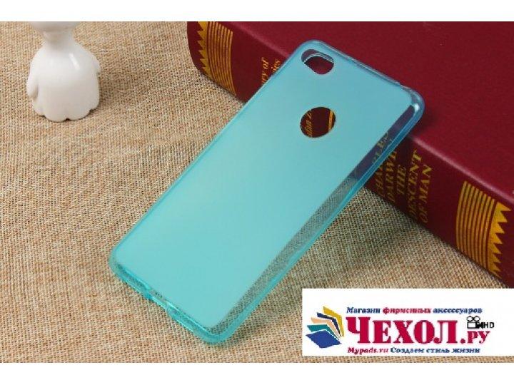 Ультра-тонкая полимерная из мягкого качественного силикона задняя панель-чехол-накладка для zte nubia z11 max ..