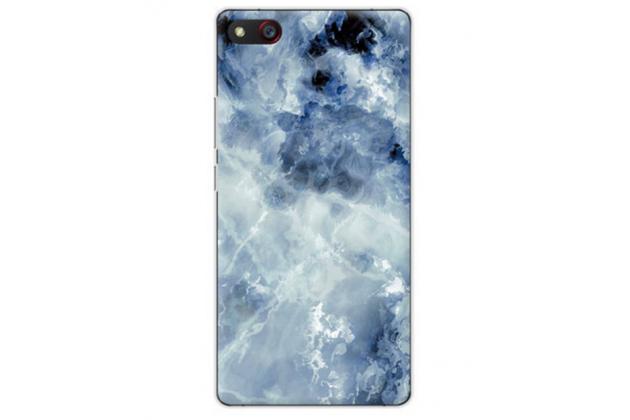 """Из тончайшего прочного пластика задняя панель-крышка-накладка с рисунком под мрамор для zte nubia z9 max 5.5"""" (nx510j)  цвет малахит"""