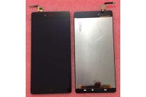 """Lcd-жк-сенсорный дисплей-экран-стекло с тачскрином на телефон zte nubia z9 max 5.5"""" (nx510j) черный"""
