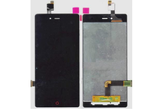 Lcd-жк-сенсорный дисплей-экран-стекло с тачскрином на телефон zte nubia z9 mini 5.0 (nx511j) черный
