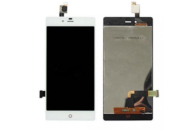 Lcd-жк-сенсорный дисплей-экран-стекло с тачскрином на телефон zte nubia z9 mini 5.0 (nx511j) белый