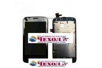 Lcd-жк-сенсорный дисплей-экран-стекло с тачскрином на телефон zte v769m черный
