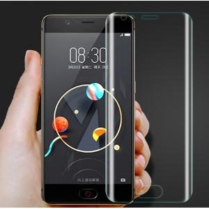 3d защитная пленка с закругленными краями которое полностью закрывает экран для телефона zte nubia m2 5.5 (nx551j) глянцевая