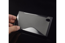 """Ультра-тонкая полимерная из мягкого качественного силикона задняя панель-чехол-накладка для zte blade vec 4g 5.0"""" черная"""