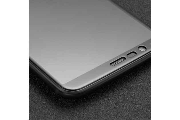 3d защитное изогнутое стекло с закругленными изогнутыми краями которое полностью закрывает экран / дисплей по краям с олеофобным покрытием для oneplus 5t