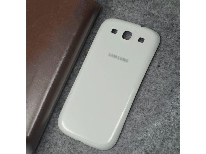 Родная задняя крышка-панель которая шла в комплекте для samsung galaxy s3 gt-i9300/duos gt-i9300i..