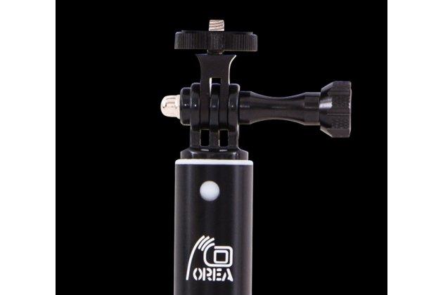 Профессиональная телескопическая алюминиевая длинная мужская селфи-палка/ трипод 150см с пультом дистанционного управления со встроенным зеркалом