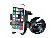 универсальный держатель для телефона крепится в воздухозаборник автомобиля поворотный роторный шириной 50-85мм