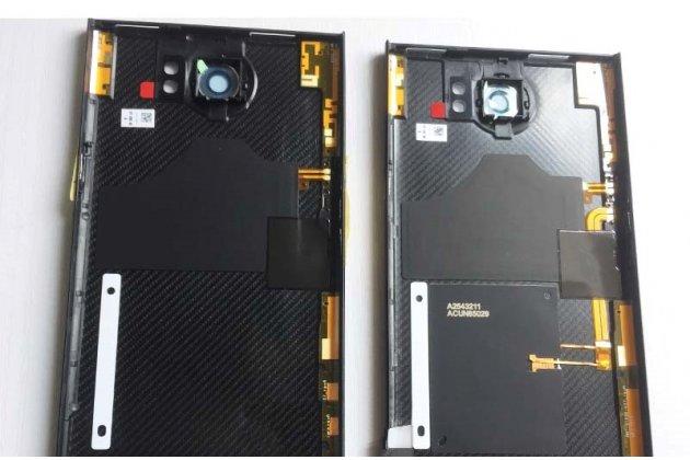 Родная задняя крышка-панель которая шла в комплекте для blackberry priv черная